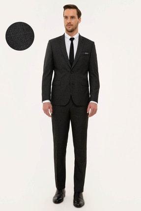 Pierre Cardin Erkek Antrasit Slim Fit Takım Elbise G021GL001.000.1156503