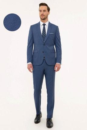Pierre Cardin Erkek Mavi Slim Fit Takım Elbise G021GL001.000.1156482