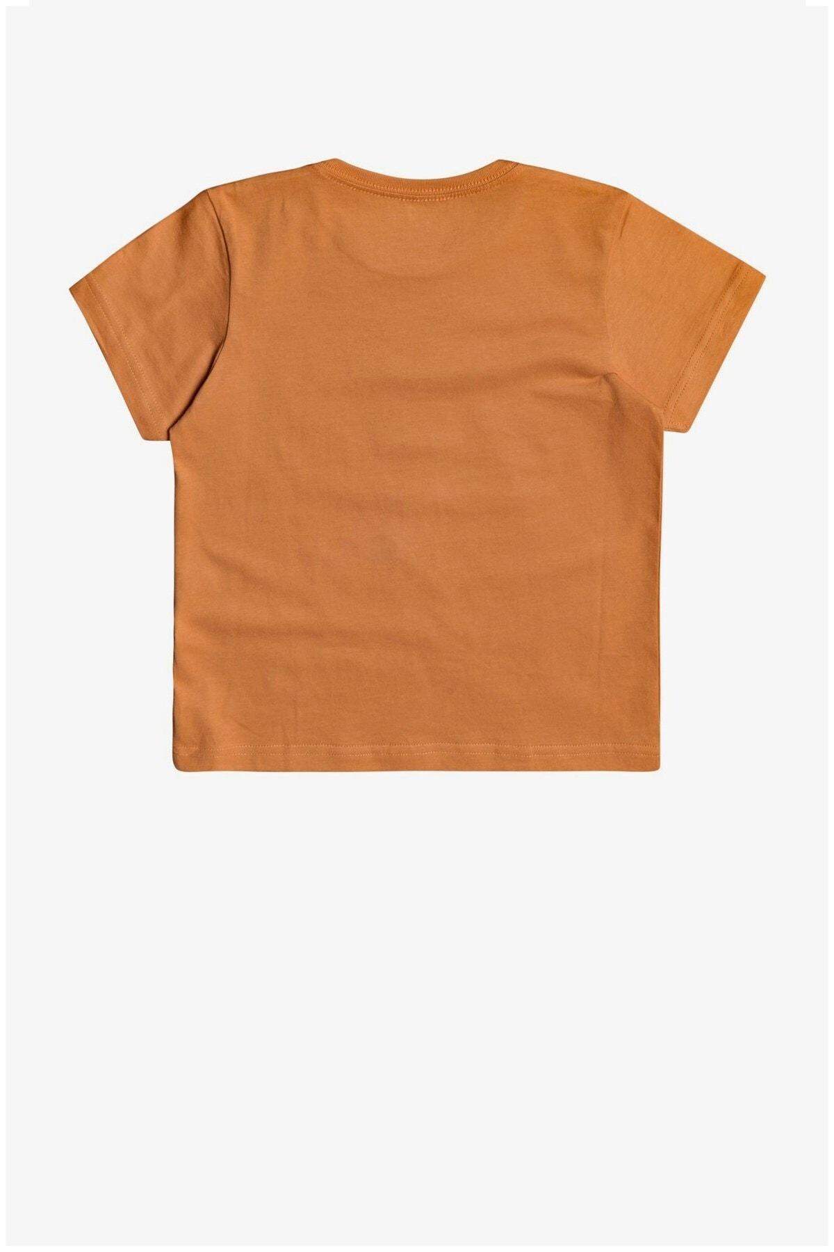 Quiksilver Erkek Çocuk Turuncu Banalleys Boy T-shirt Eqkzt03372-nlf0 2