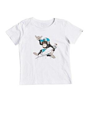 Quiksilver Çocuk Beyaz Banalleys Boy T-shirt Eqkzt03372-wbb0