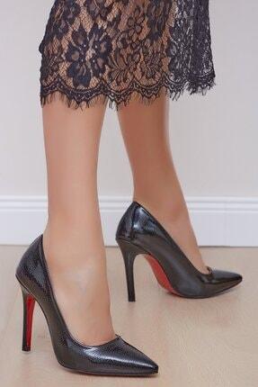 Shoes Time Kadın Siyah Topuklu Ayakkabı 19k 212