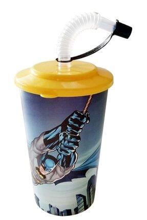 KaktüsKedi Pipetli Batman Lisanlı Çocuk Bardağı 713497
