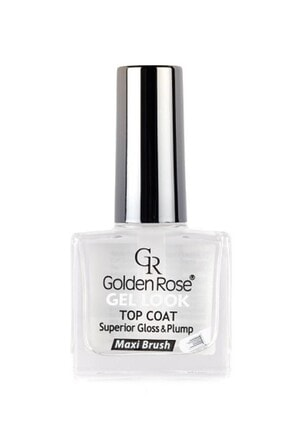 Golden Rose Parlaklık Verici Tırnak Cilası - Gel Look Top Coat 10,5 ml 8691190068943