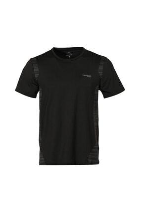 lumberjack M-18187 Dale Kk Tshırt Siyah Erkek T-shirt