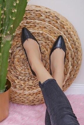 Shoes Time Kadın Siyah Babet 20y 401