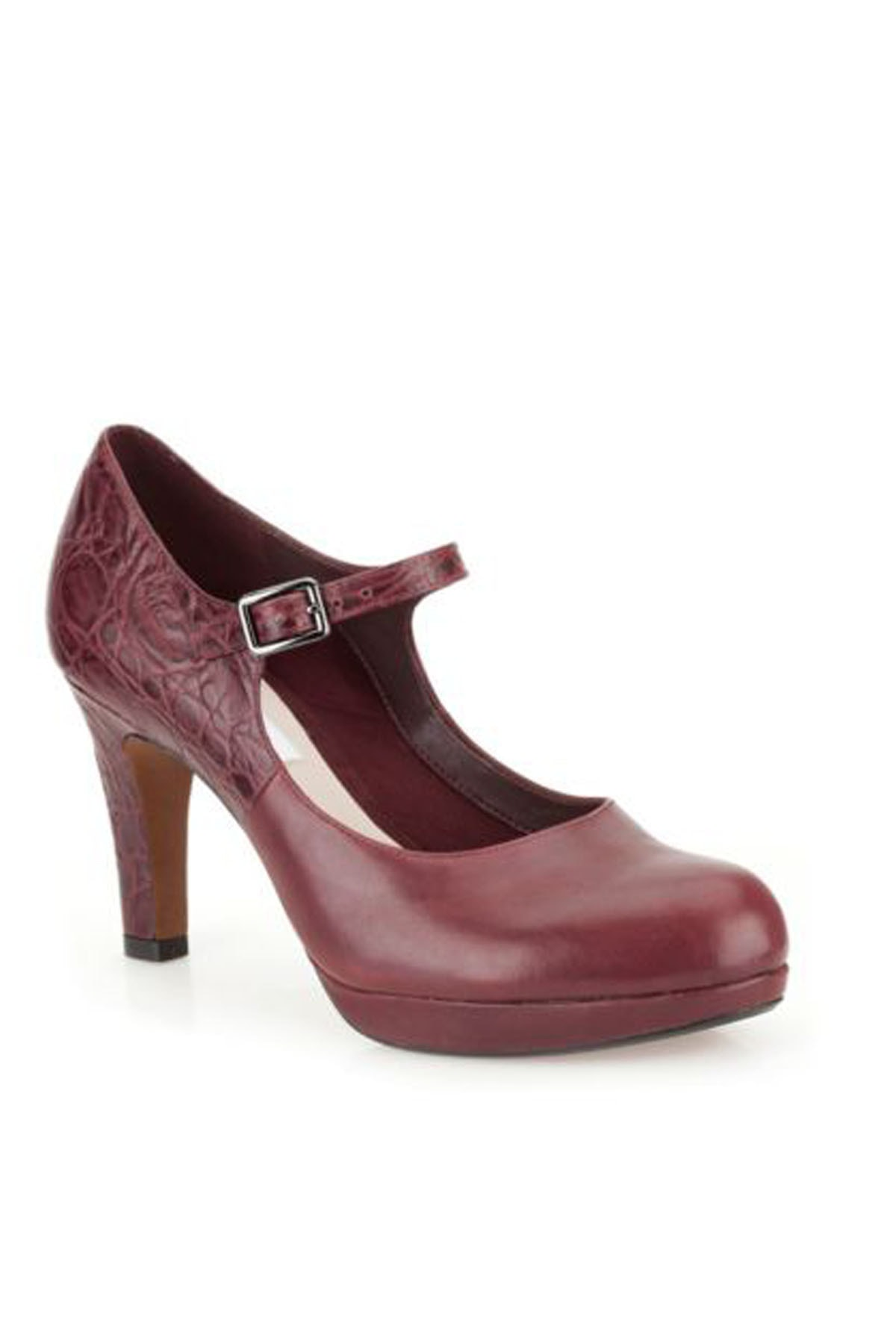 CLARKS Kadın Angıe Kendra Topuklu Ayakkabı 1