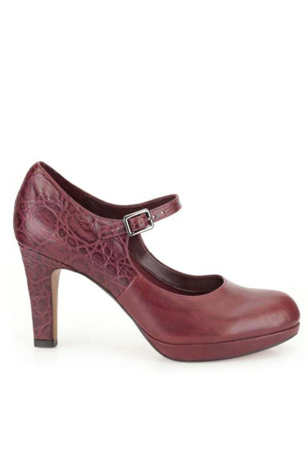 CLARKS Kadın Angıe Kendra Topuklu Ayakkabı 2