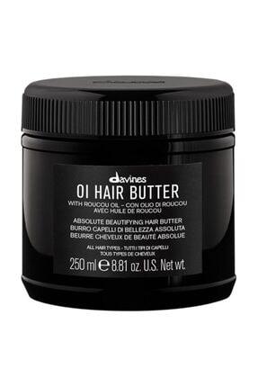 Davines Oi/Oil Butter Pürüzsüzleştirici Saç, Vucüt Bakım Kremi 250 ml