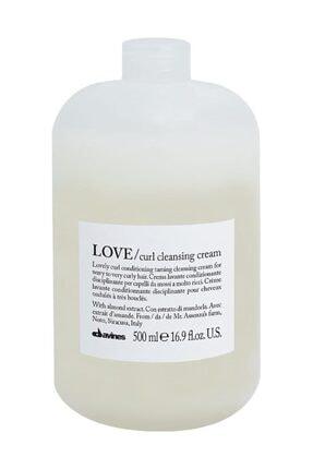 Davines Love Curl Bukle Belirginleştirici Temizlik Kremi 500 ml