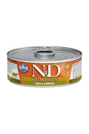 N&D Balkabaklı Ördekli Kedi Konservesi 80 gr