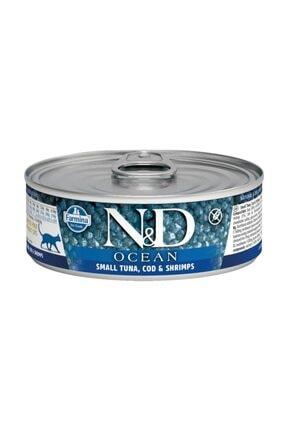N&D Ocean Ton Balığı & Karides Kedi Konservesi 80 gr