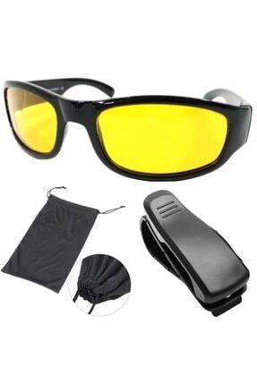 ModaCar Gece Sürüş ve Sis Gözlüğü + Gözlük Tutucu Hediyeli 422253