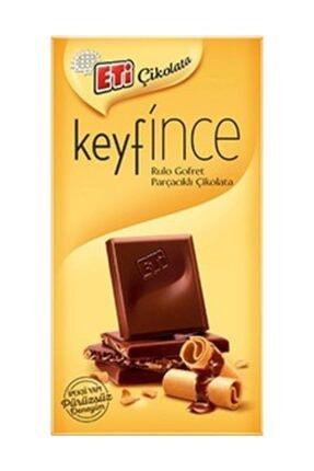 Eti Keyif İnce Rulo Gofret Parçacıklı Çikolata - 27 gr - 12 ad