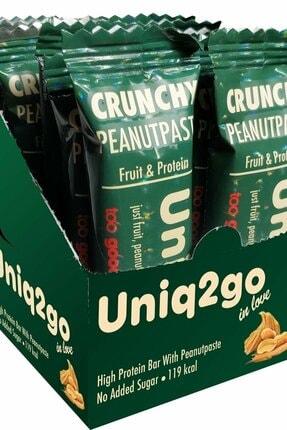 Uniq2Go In Love Fıstık Ezmeli Protein Bar 32 Gr 12 Adet - Yer Fıstığı Ezmesi