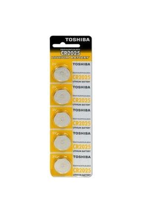 Toshiba Para Pil CR2025 5 Adet