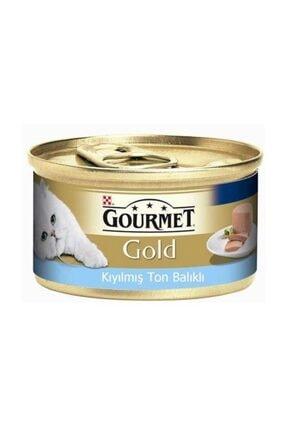 Proplan Gourmet Gold Kıyılmış Ton Balıklı Kedi Konservesi 85gr
