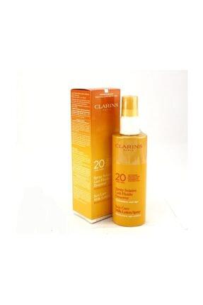 Clarins Güneş Sütü Spray Spf20 150 ml 3380811443126
