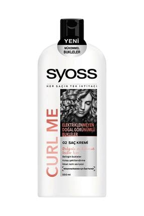 Syoss Curl Me Saç Kremi 550 ml