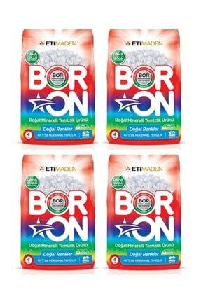 Eti Matik Boron Doğal Renkler Doğal Mineralli Temizlik Ürünü 4 Kg x 4 Adet