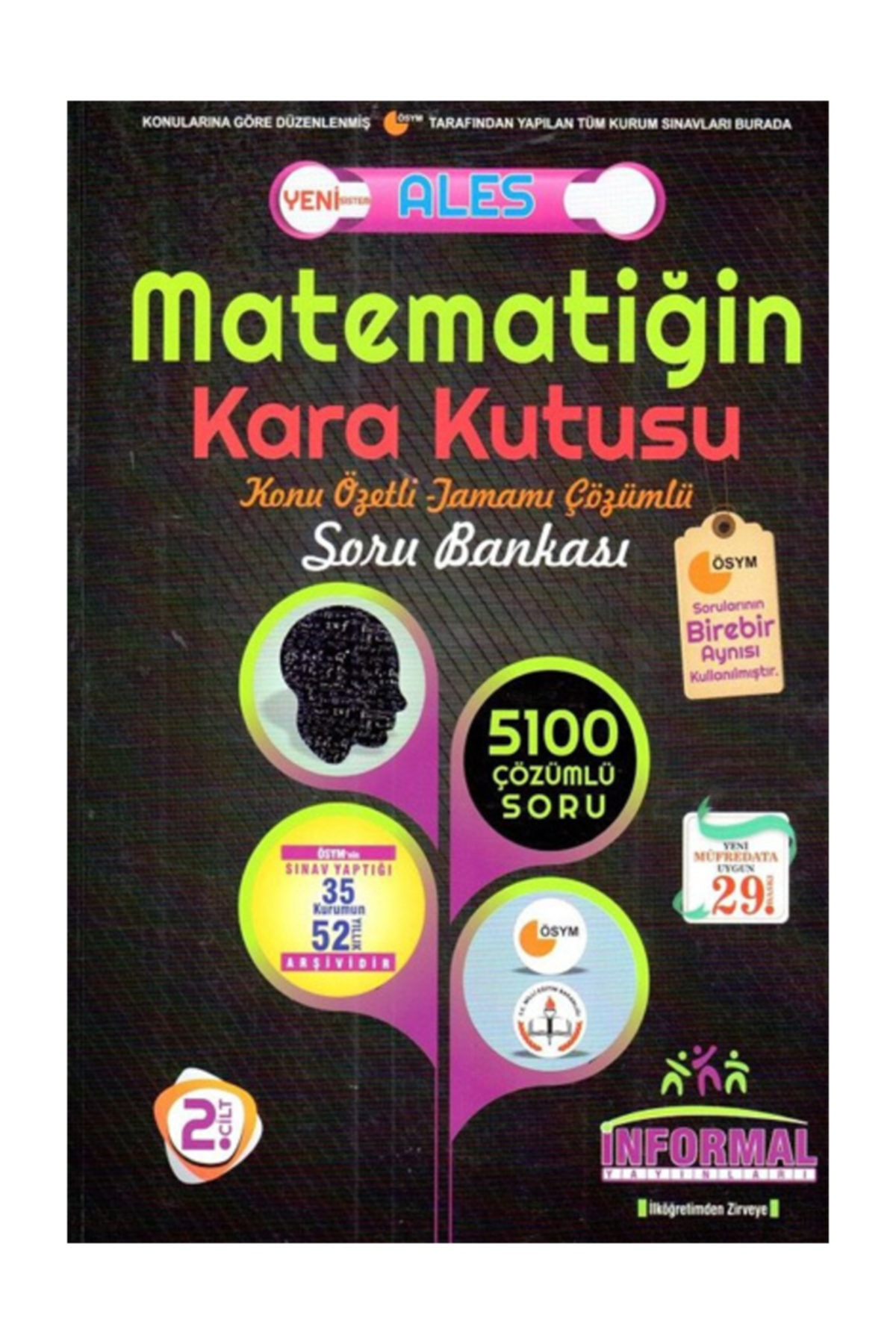İnformal Yayınları Ales Matematiğin Karakutusu Soru Bankası 1