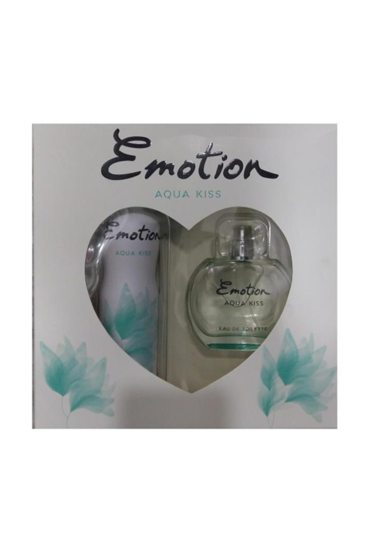 Emotion Edt 50 ml+deo Aqua Kıss Kadın 1