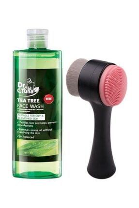 Farmasi Cilt Temizleme Fırçası Siyah Ve Çay Ağacı Yağı Yüz Yıkama Jeli 225 ml
