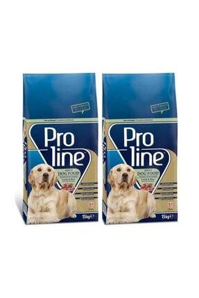 Pro Line ProLine Kuzu Etli Ve Pirinçli Yetişkin Köpek Maması 15 Kg 2 Adet