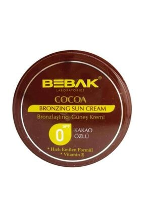 Bebak Cocoa Sun Cream SPF0 100 ml