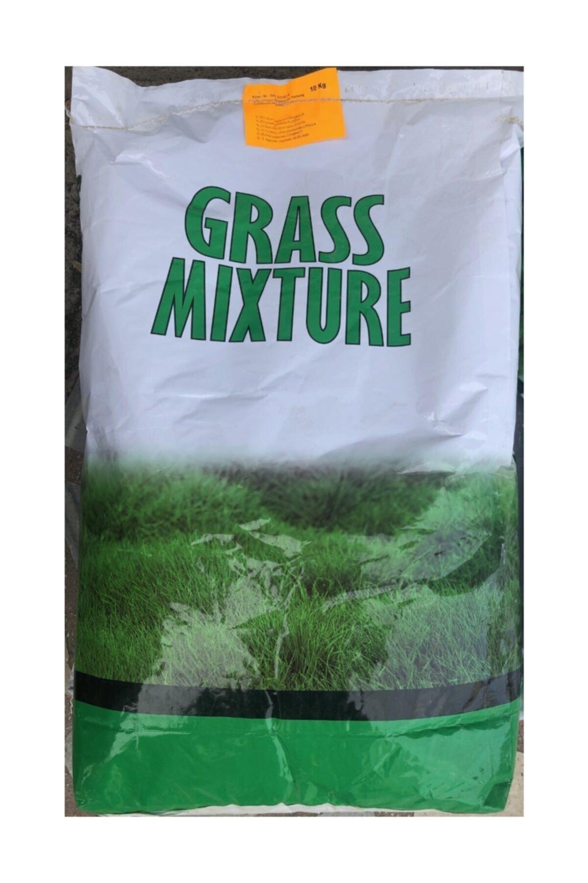 GRASS MIXTURE Çim Tohumu 10 Kg 6 Mix Altılı Karışım İthal Ot Çayır Tohum 1