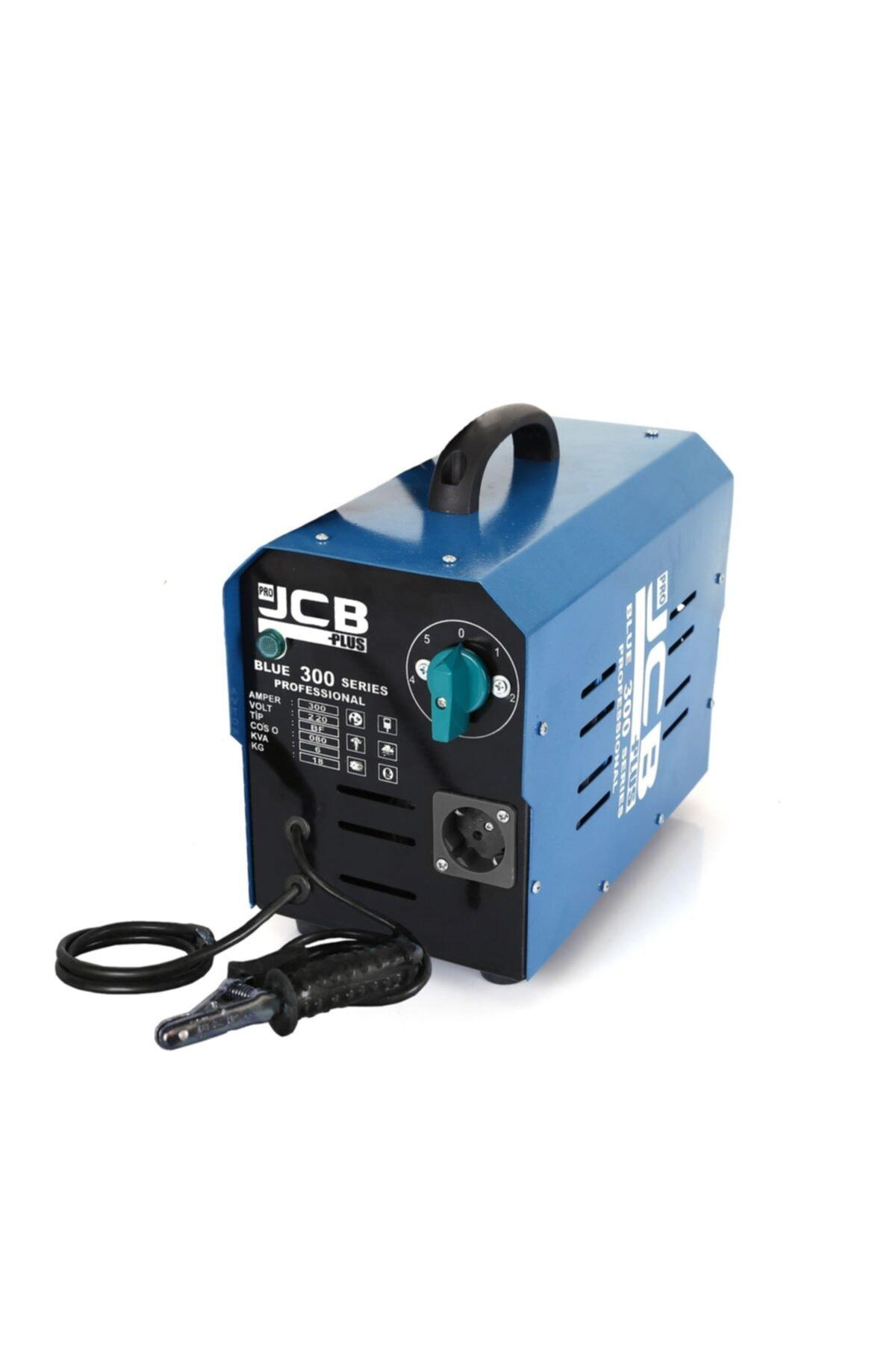 ProJCB Plus Jcb Pro Plus BLUE 300 5 Kademeli Kaynak Makinası 300 Amper Bakır Sargılı 2000 W Spiral Hediyeli 2