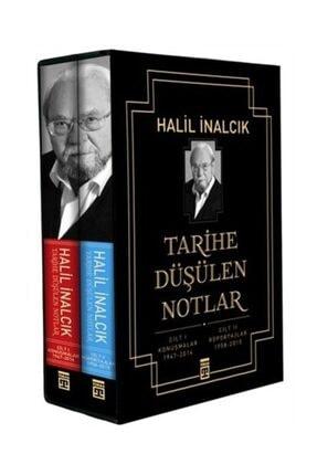 Timaş Yayınları Tarihe Düşülen Notlar (2 Cilt Takım Kutulu) - Halil İnalcık