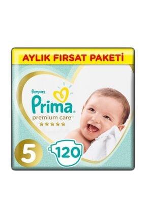 Prima Premium Care Aylık Fırsat Beden:5 (11-18Kg) Junior 120 Adet Bebek Bezi