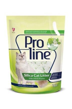 Pro Line Proline Kristal Kedi Kumu Elmalı Silica 7.6 Lt