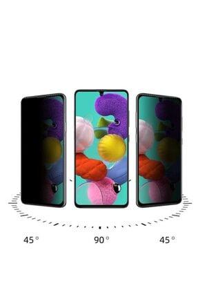 Samsung Galaxy A71 5D HD Privacy Tam Kaplayan Hayalet Cam