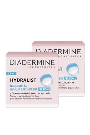 Diadermine Hydralıst Nemlendirici Bakım Kremi Jel Doku 50 ml X 2 Paket