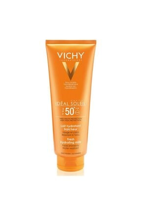 Vichy Unisex  Capital Soleil Hydra Lait   Yüz Güneş Kremi  50Spf    300 ml