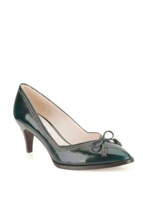 CLARKS Kadın Yeşil Ancient Bombay Topuklu Ayakkabı