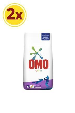 Omo Toz Çamaşır Deterjan 9 Kg Color - 2'li Paket
