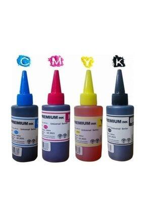 PHOTO PRİNT Photo Print Premium® Epson T664 L3050 L3060 L3070 Uyumlu 4 Renk Kaliteli Mürekkep Seti 4 x 100 ml