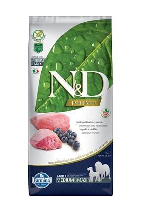 N&D Tahılsız Kuzu Etli Orta Irk Yetişkin Köpek Maması - 12 kg