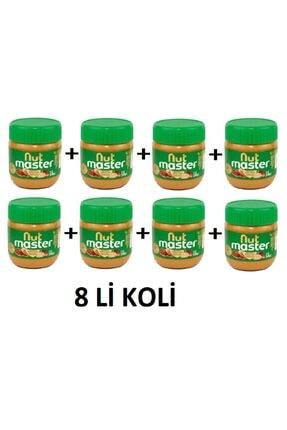 Nut Master %93 Şeker İlavesiz Yer fıstığı Ezmesi 340 G X 8Lİ KOLİ