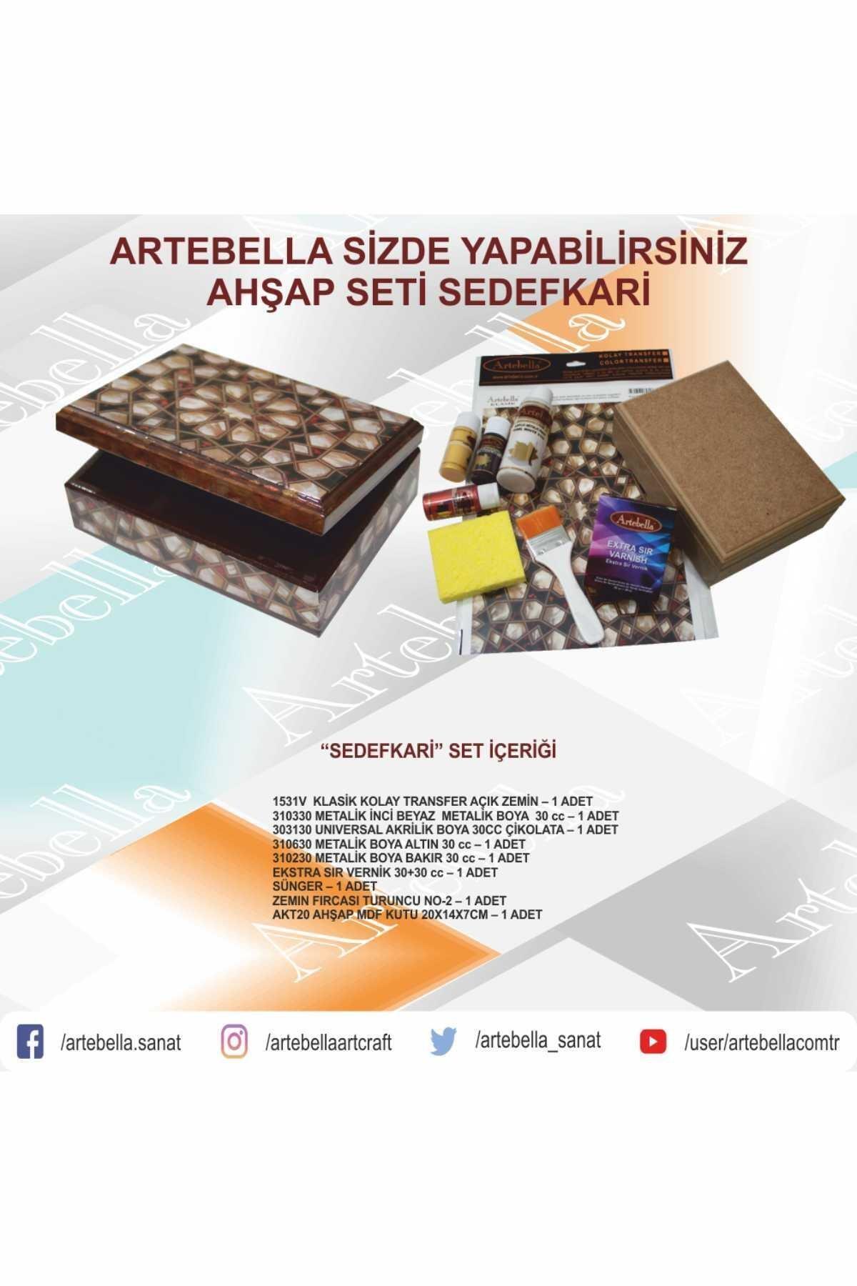 Artebella Syst0004 Sizde Yapabilirsiniz Set Sedefkari 1