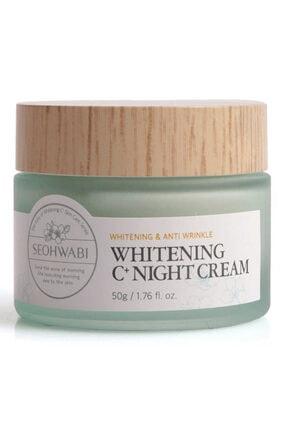 Seohwabi Whitening C+ Night Cream - Aydınlatıcı Gece Kremi