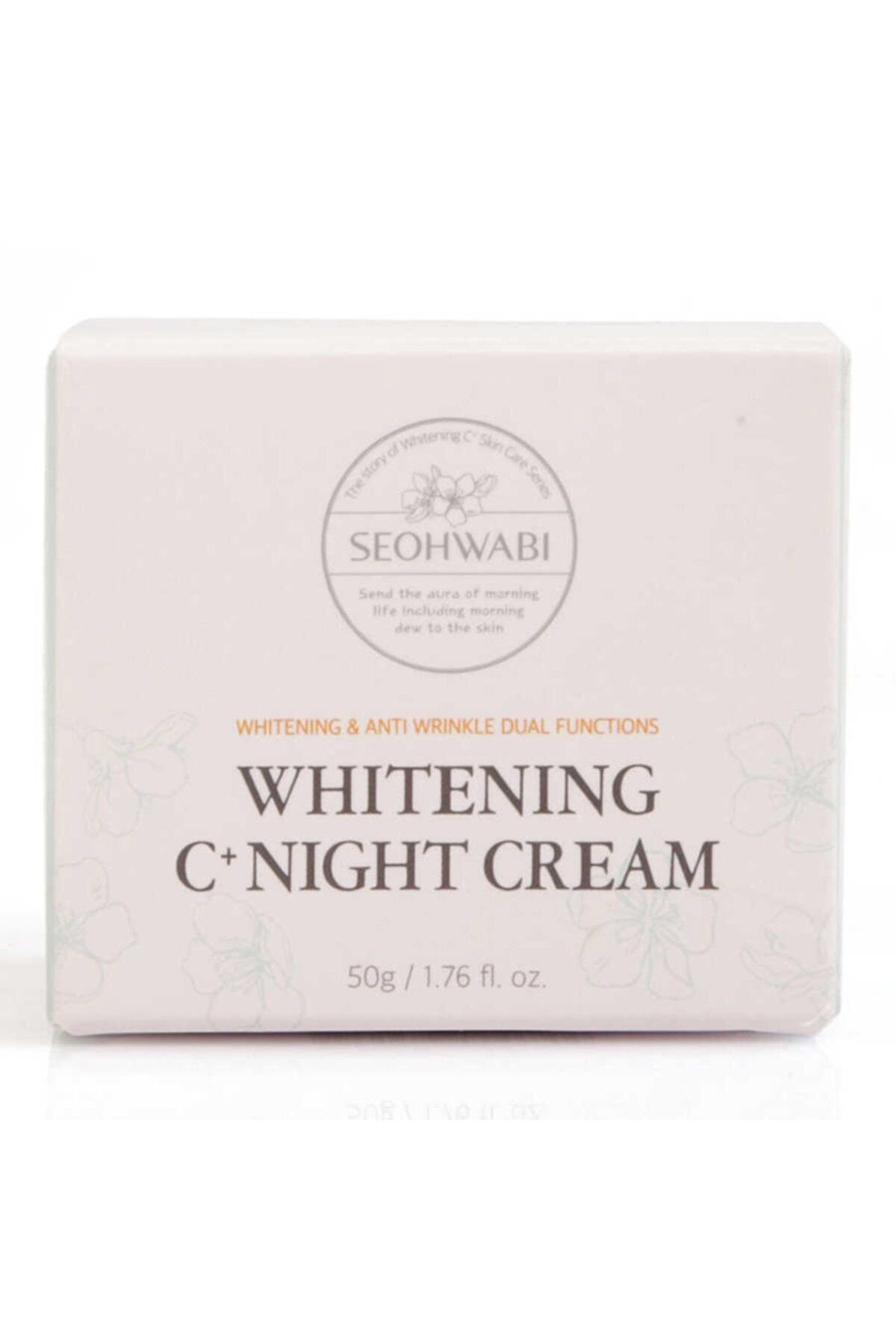 Seohwabi Whitening C+ Night Cream - Aydınlatıcı Gece Kremi 2