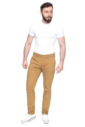 Lee Erkek Gold  Keten Pantolon