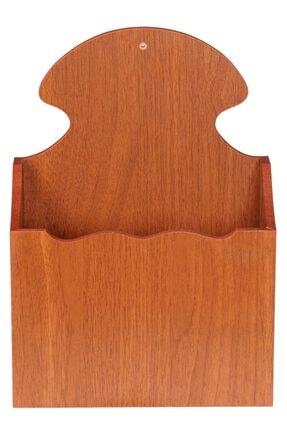 SELENA Ahşap Posta Kutusu - Ceviz Bambu Akça 3 Renk