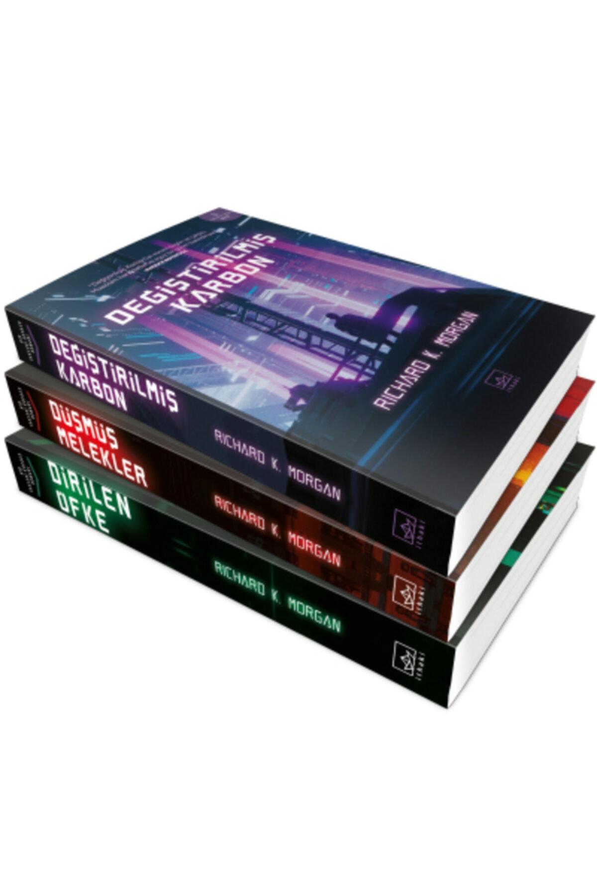 İthaki Yayınları Değiştirilmiş Karbon Serisi ( 3 Kitap Takım ) 1