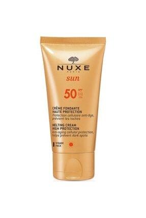 Nuxe Sun Creme Fondante Visage Haute Protection Spf50 50 ml