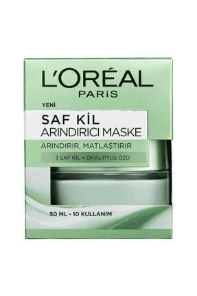 L'Oreal Paris Saf Kil Arındırıcı Maske  50 ml 3600523306237