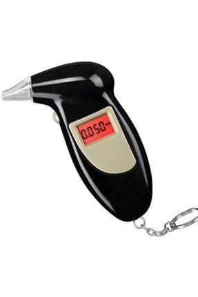 Bundera Dijital Alkolmetre Cihazı Alkol Promil Ölçer Lcd Ekranlı Alkol Ölçüm Cihazı Alkol Metre Ağızlık Alet